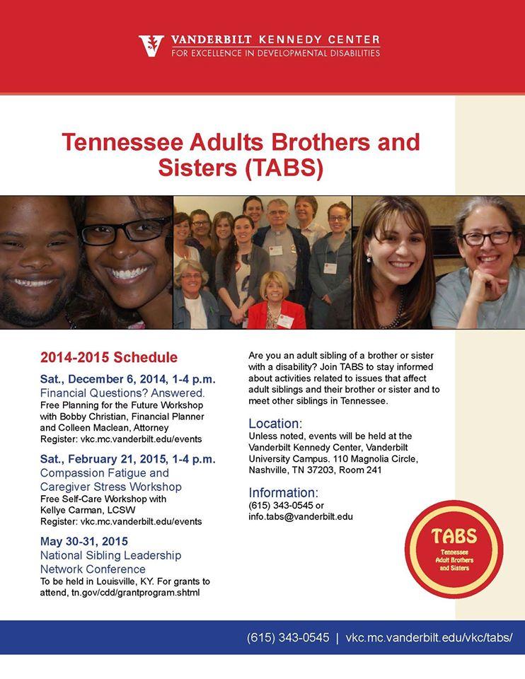 TABS flyer