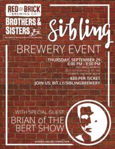 Georgia Siblings Event Flyer